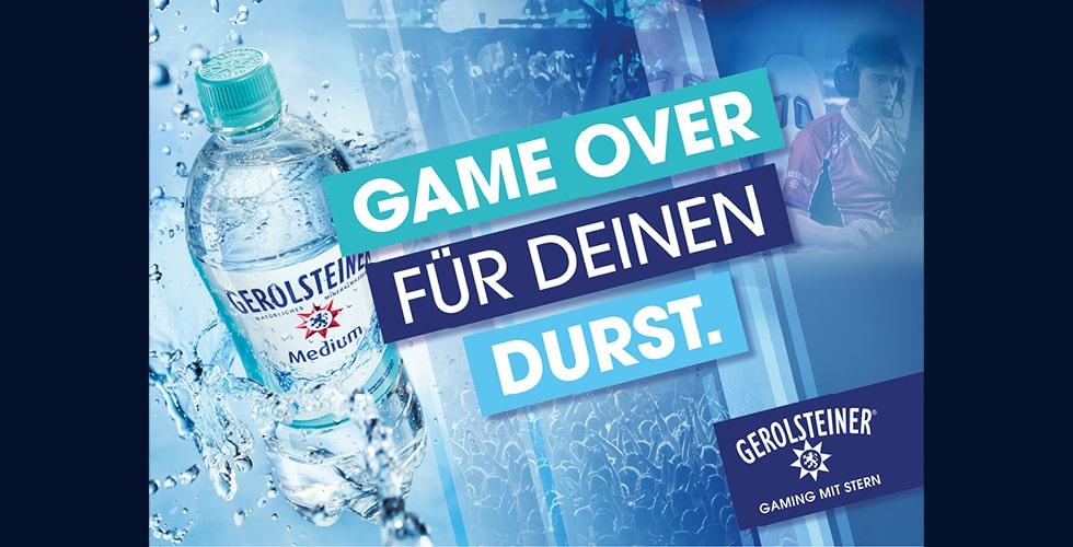 Gerolsteiner eSports Marketing Banner