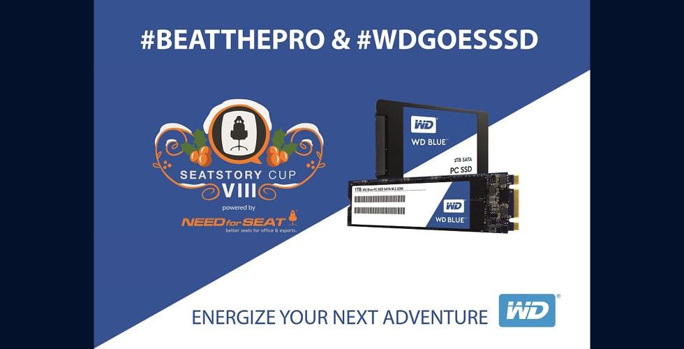 WD eSports Werbung