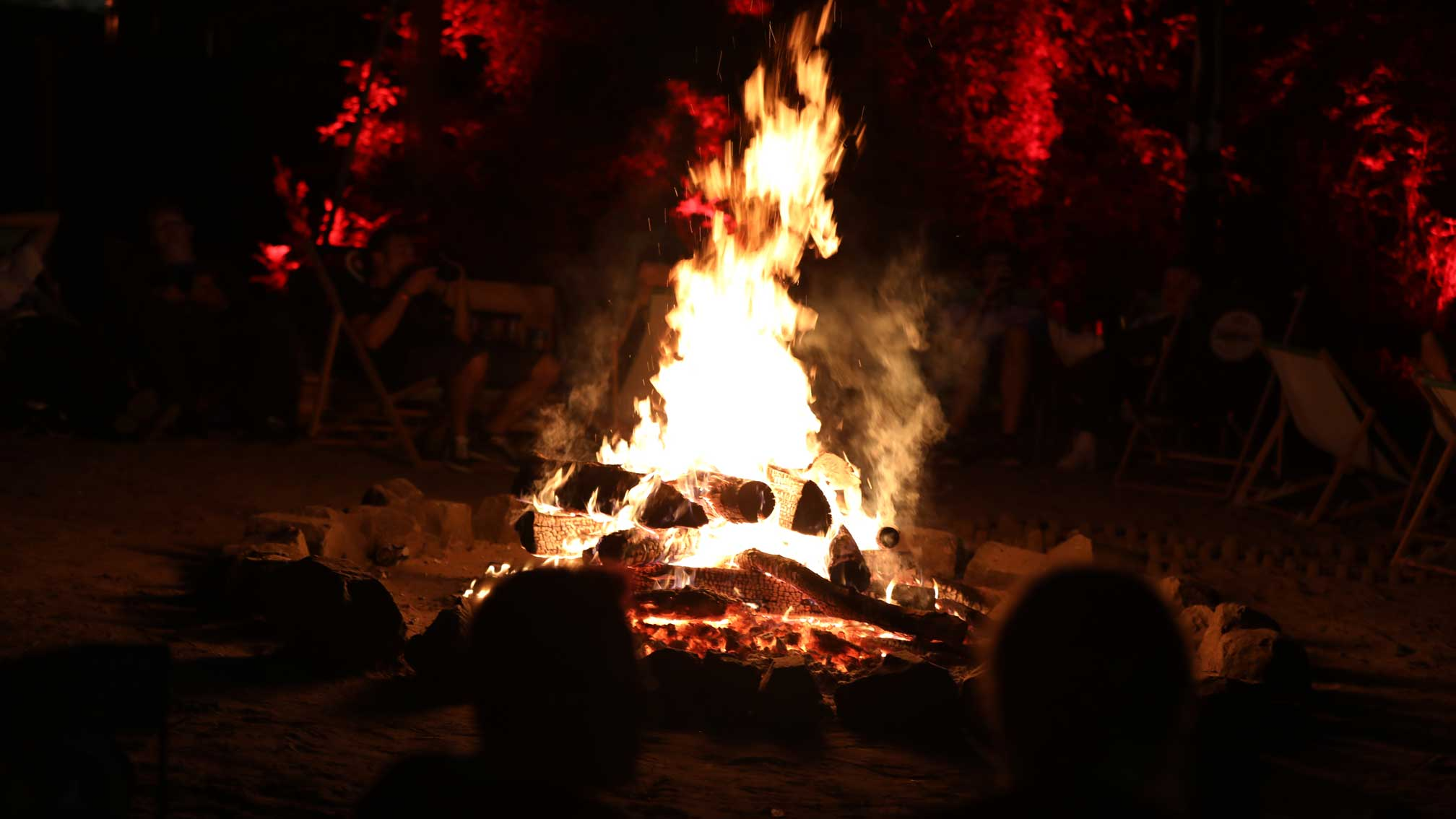 gamescomCamp Lagerfeuer
